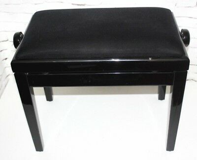 Height Adjustable Piano Stool Upholstered Seat - FREE Shipping [PL4300]