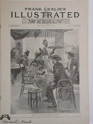 Original Columbian Exposition Frank Leslie's Illustrated Weekly, August 3, 1893