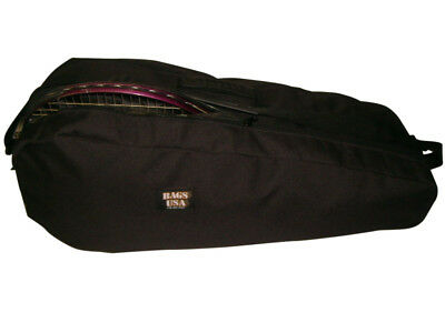 Tennis bag,holds 4 Rackets and shoe compartment ,deluxe model Made in USA.