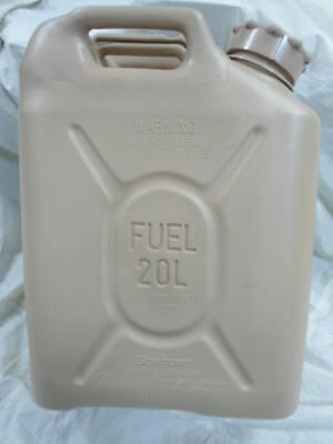 US Military Scepter 20L Tan Fuel Can NEW NSN:7240-01-337-5268