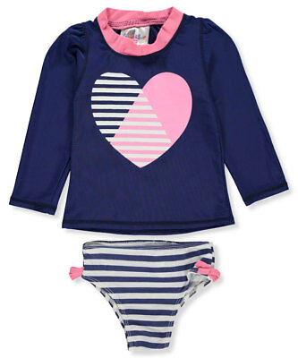 Sweet & Soft Baby Girls' 2-Piece Swim Set