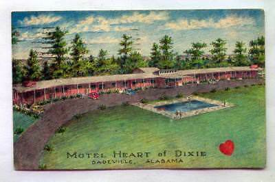Motel Heart Of Dixie South On 280 Dadeville ALABAMA *1985*