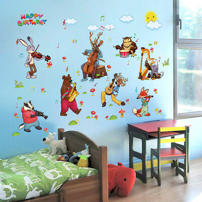 wandtattoo kinderzimmer eulen tiere junge m dchen baby wandsticker aufkleber ast eur 5 49. Black Bedroom Furniture Sets. Home Design Ideas