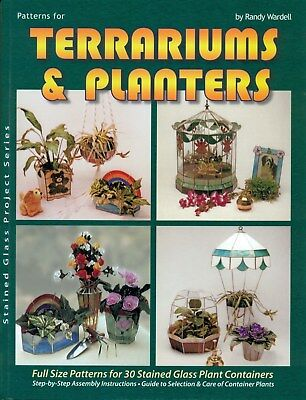 Terrariums And Planters Stained Glass Pattern Book Vases Frame