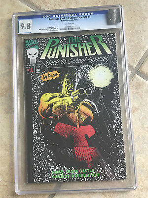 THE PUNISHER BACK TO SCHOOL SPECIAL #1 cgc 9.8 from 1992