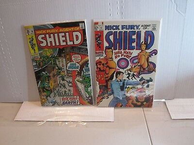 Nick Fury Agent Of Shield Comic Book lot