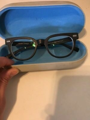 Warby Parker Duckworth Rx Eyeglasses Frames 47[]20-145 6242 Balck with Box