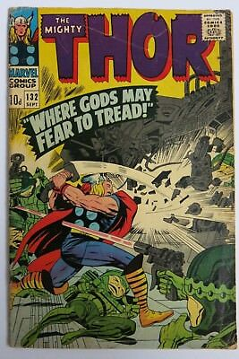The Mighty Thor #132 - 1st app. Ego (GOTG) - Marvel Comics