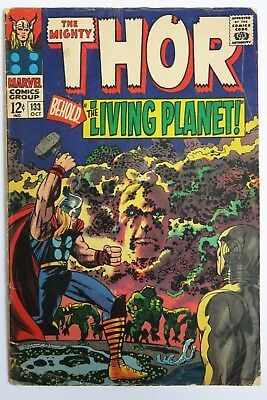The Mighty Thor #133 - 1st Full app. Ego (GOTG) - Marvel Comics