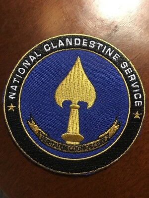 CIA PATCH NATIONAL CLANDESTINE SERVICE CENTRAL INTELLIGENCE AGENCY 3.9 Inches