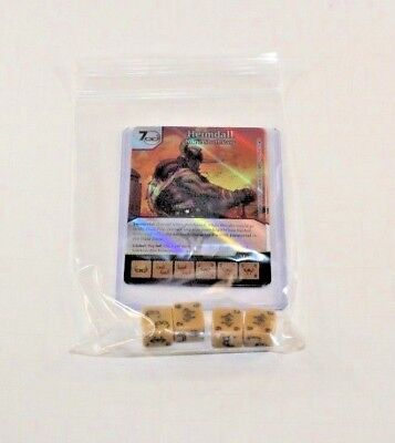 NICK FURY CUR Set RARE FOIL Uncommon 4 dice Marvel Dice Masters Mighty Thor