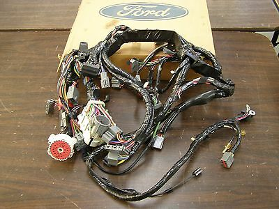 nos oem ford 1989 ranger truck pickup wiring harness under hood Car Wiring Harness nos oem ford 1989 bronco ii 2 wiring harness under dash