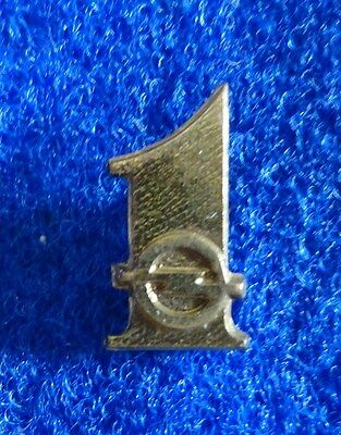 Small Vintage Opel #1 German Automobile General Motors Car Advertising Metal Pin