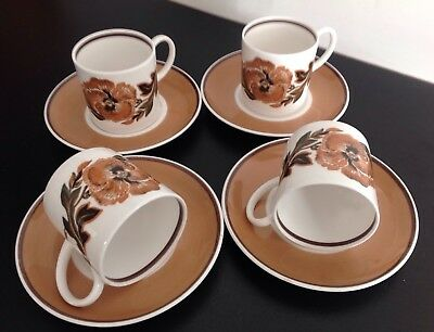 Vintage 1960's Susie Cooper Fine Bone China, Tea/Coffee Set, 'Reverie' C2055
