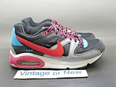 finest selection 4e9e1 2f9fd Women s Nike Air Max Command Black Teal Pink Running Shoes 397690-010 sz 7.5