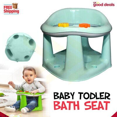Baby Infant Toddler Kids Bathing Dinning Play 3 In 1 Support Seat Chair Green