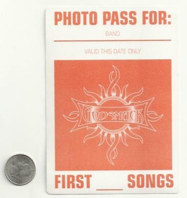 GODSMACK New BACK STAGE PASS/sticker/decal rock music metal band