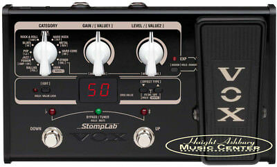Vox StompLab IIG Modeling Guitar Effects Pedal (SL2G) Made In Japan