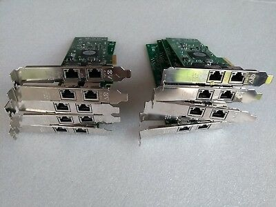 LOT OF 10 x HP 458491-001 453055-001 NC382T PCI Express Dual Adapter
