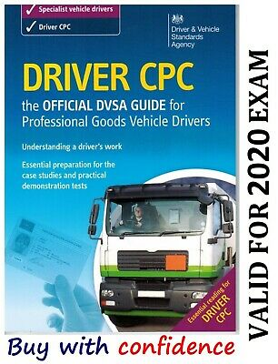 Official DVSA CPC Guide for Professional Goods Vehicle Drivers Book *CPC