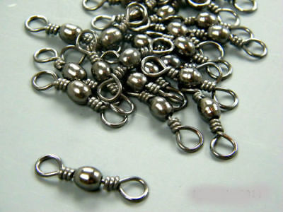 BARREL swivels size #10 to 1/0  in packs of 25/50/100 + free gift