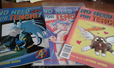 NO NEED FOR TENCHI! ISSUES COMIC Book Lot