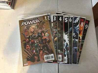 Marvel Ultimate Power #1-9 (2006) Full Run Ultimates Vs Squadron Supreme