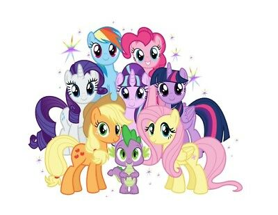 My Little Pony Iron On Transfer For Light or Dark T Shirt Fabric