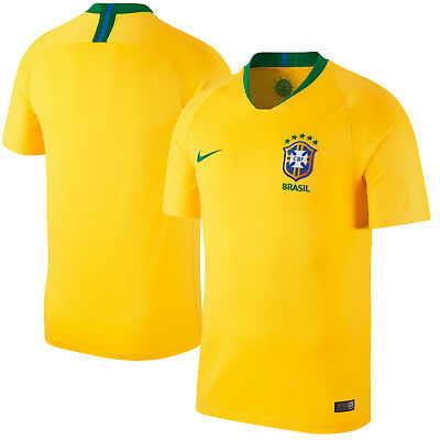 d922c67b4 Nike Brazil - Brasil WC World Cup 2018 Home Soccer Jersey Brand New Yellow