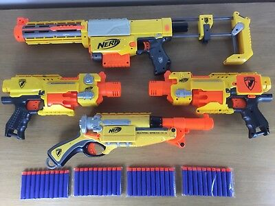Nerf N-Strike Recon CS 6 + Barricade X2 + Barrel Break + Mags + Ammo Bundle