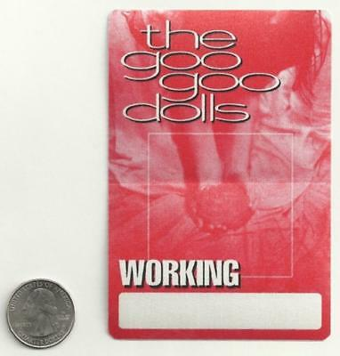 GOO GOO DOLLS New BACK STAGE PASS/sticker/decal rock music band