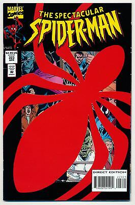 "The Spectacular Spider-Man (1976 Series) # 223 ""Die-Cut Cover"" - Ap..."