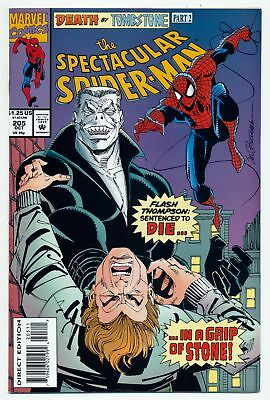 The Spectacular Spider-Man (1976 Series) # 205 - Oct 1993 | 8.0 VF