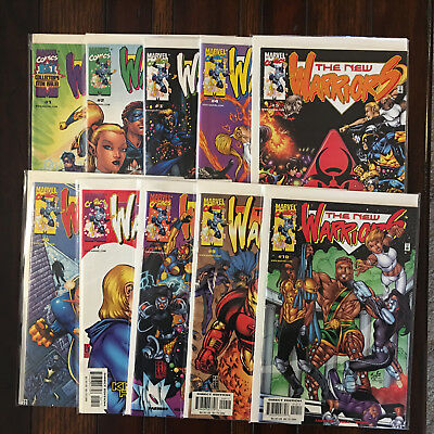 Marvel NEW WARRIORS (Volume 2 1999) 1 2 3 4 5 6 7 8 9 10 Complete Series VF/NM