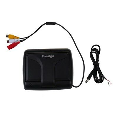 Fasdga Foldable 4.3Inch Color LCD TFT Reverse Rear view Monitor for Car Bac T5C8