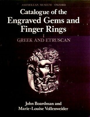 Greek Etruscan Hellenic Finger Rings Engraved Gemstones Oxford Ashmolean Pix VLG
