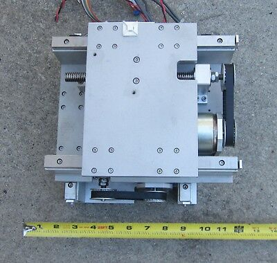 "Mini CNC Precision High Torque Motorized XYTable 5"" Travel/IR Sensor,Made in USA"