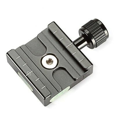 metal 50mm Quick Release Plate QR Clamp 3/8-inch with 1/4-inch Adapter for S9O6