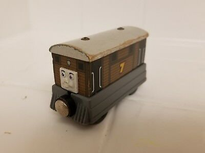 THOMAS AND Friends Wooden Railway Toby Train Engine - $4.99 | PicClick