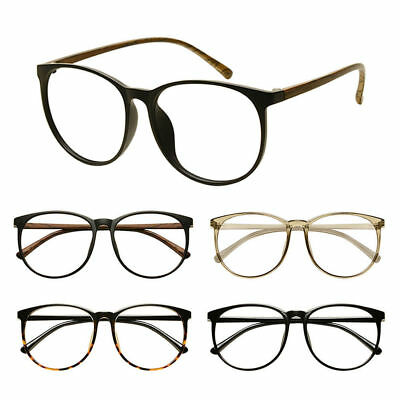 TR90 Student Finished Glasses Round Frame Myopia Eyeglasses Strength -0.5~-6.0 T