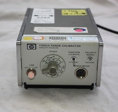KEYSIGHT HEWLETT PACKARD HP Agilent 11683A Power Meter Range Calibrator