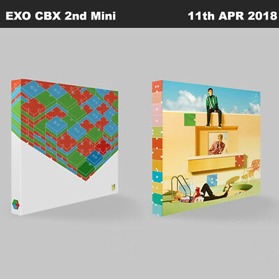 EXO CBX BLOOMING DAY 2nd Mini Album Random Ver CD+Booklet+PhotoCard+Etc