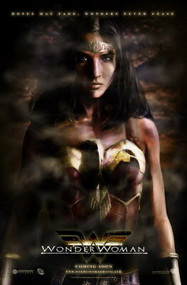 """014 Wonder Woman - Sexy Girl Justice League USA Hero 14""""x21"""" Poster"""