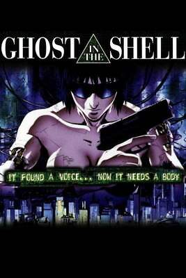 "014 Ghost In The Shell - Fight Riot Police Anime Hot Movie 14""x21"" Poster"