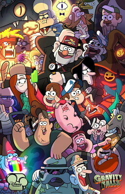 "018 Gravity Falls - Disney Mabel Pines USA Cartoons 14""x21"" Poster"