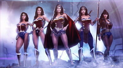 """021 Wonder Woman - Sexy Girl Justice League USA Hero 43""""x24"""" Poster"""