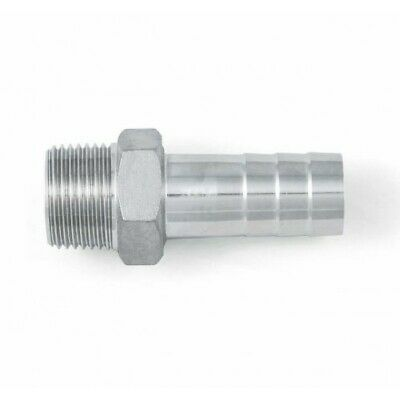 BSP Hexagon Hose Nipple / Tail - A4 (T316) Marine Grade Stainless Steel