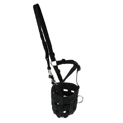 Horse / Pony Grazing Muzzle w/ Halter Prevent Crib Over-eating Grass Forage