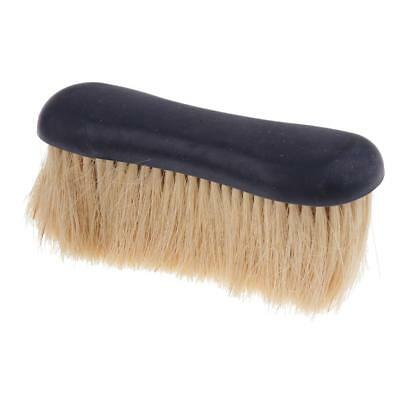 Horse Pony Grooming Brush Mane Tail Curry Comb Equestrian Body Brush Black