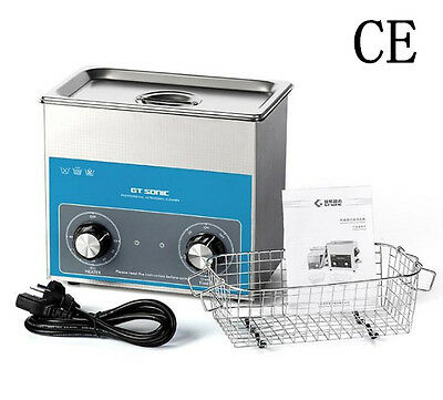 CE Stainless Steel 3 L Liter Industry Heated Ultrasonic Cleaner Heater w/Timer